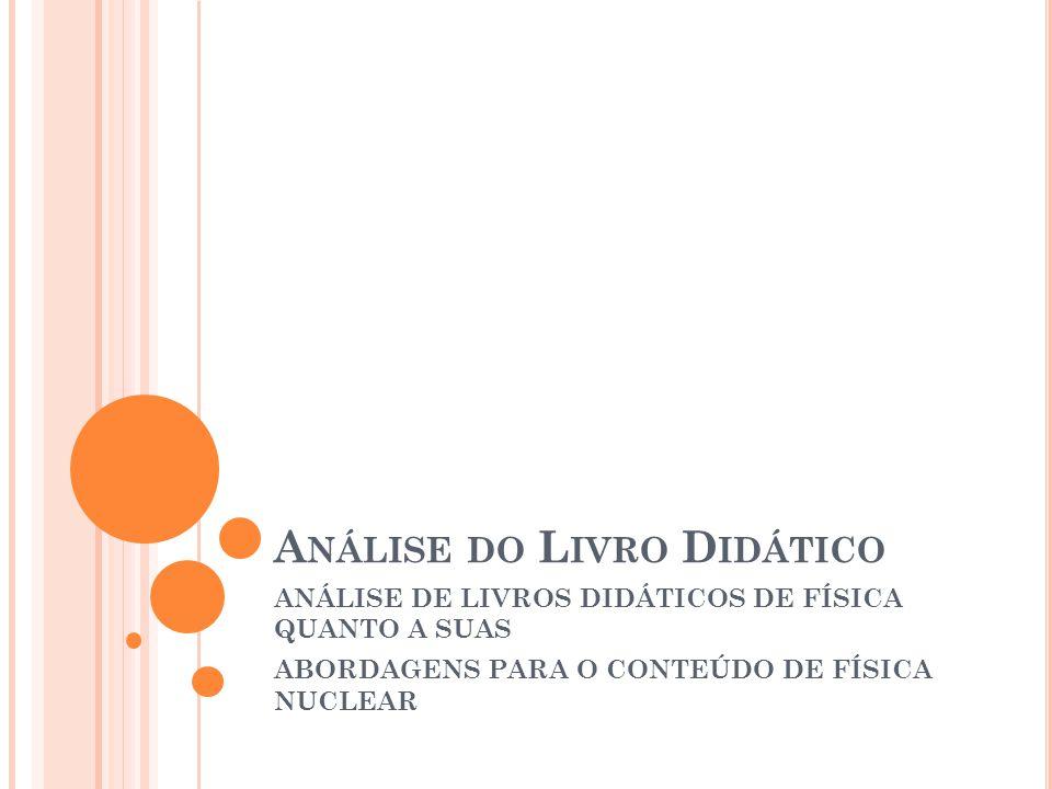 A NÁLISE DAS OBRAS LIVRO 1 – CURSO DE FÍSICA, VOLUME 3.