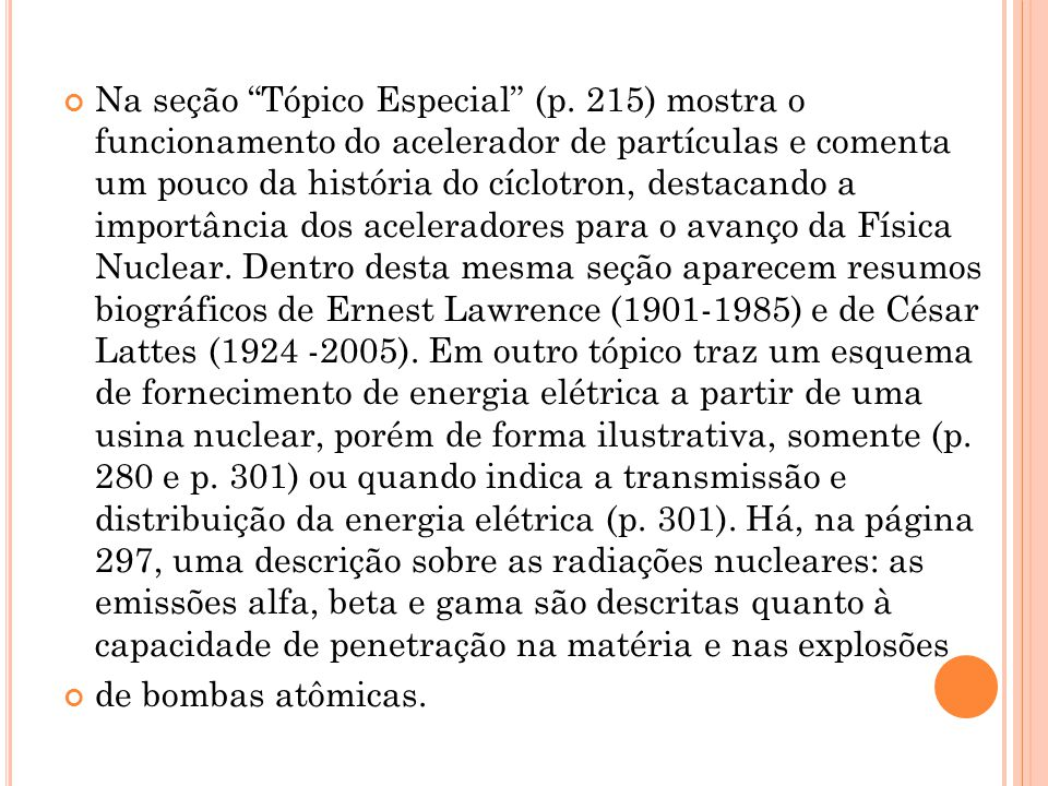 Na seção Tópico Especial (p.