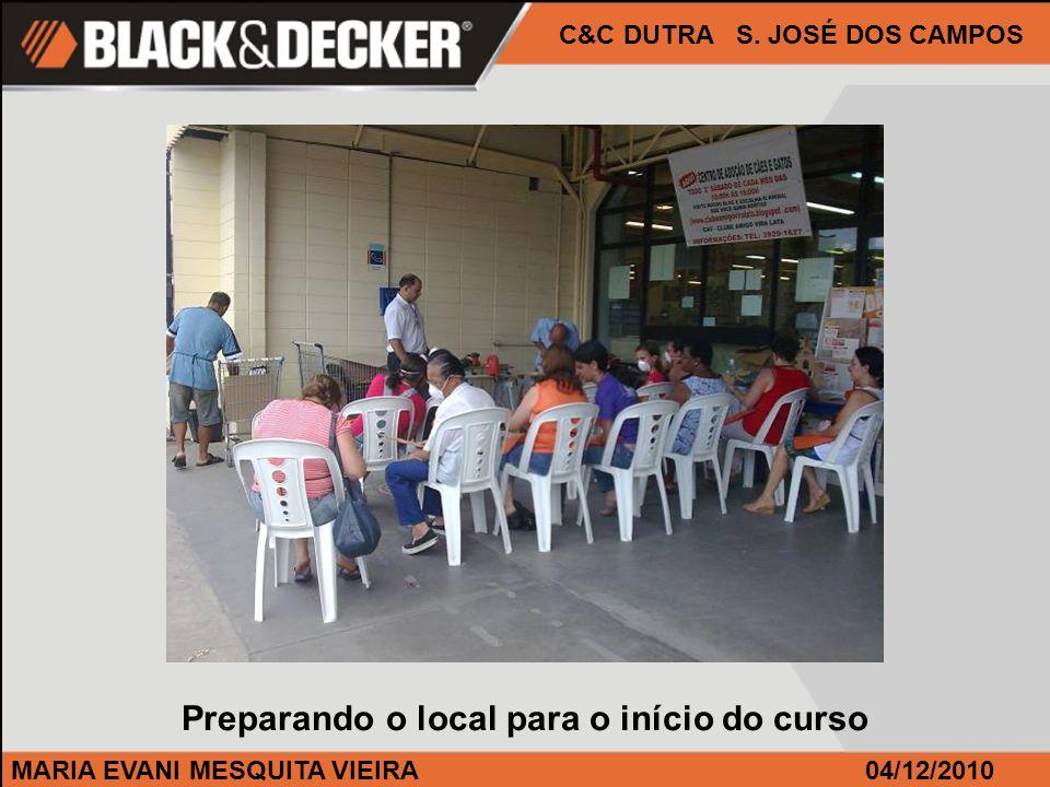 MARIA EVANI MESQUITA VIEIRA04/12/2010 C&C DUTRA S.