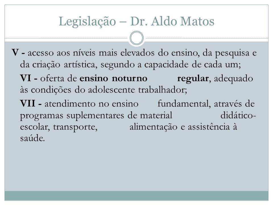 Legislação – Dr.