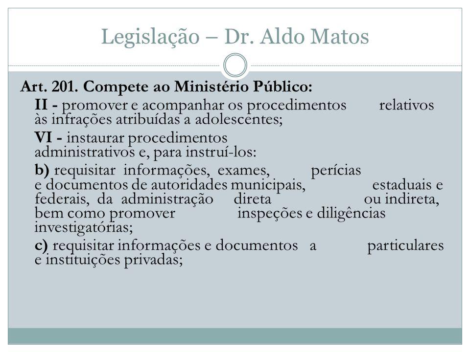 Legislação – Dr.Aldo Matos Art. 201.