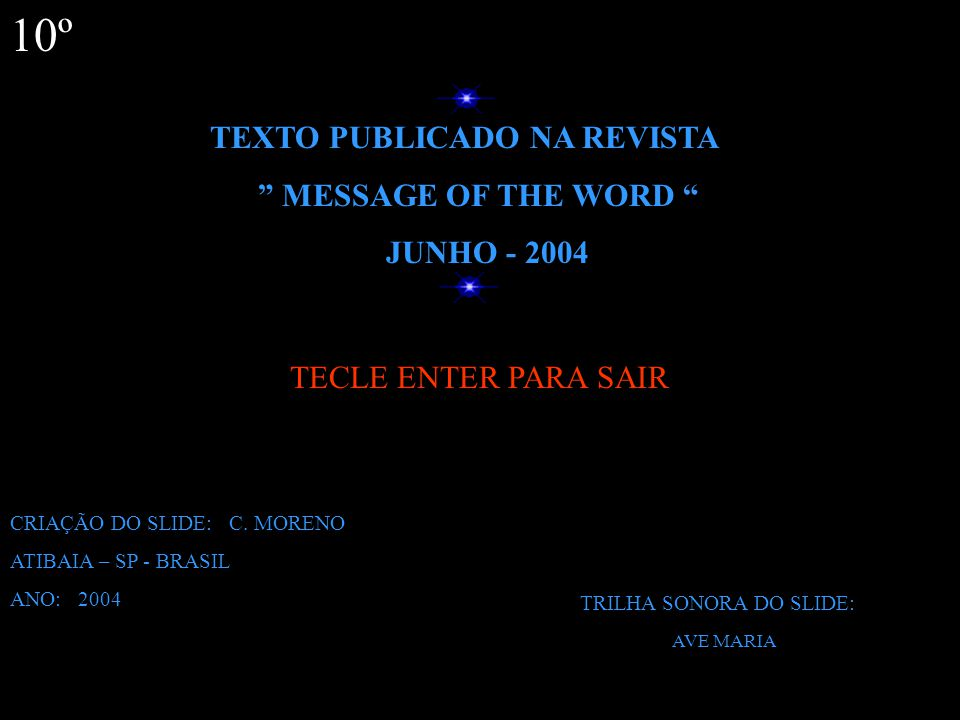 TECLE ENTER 9º