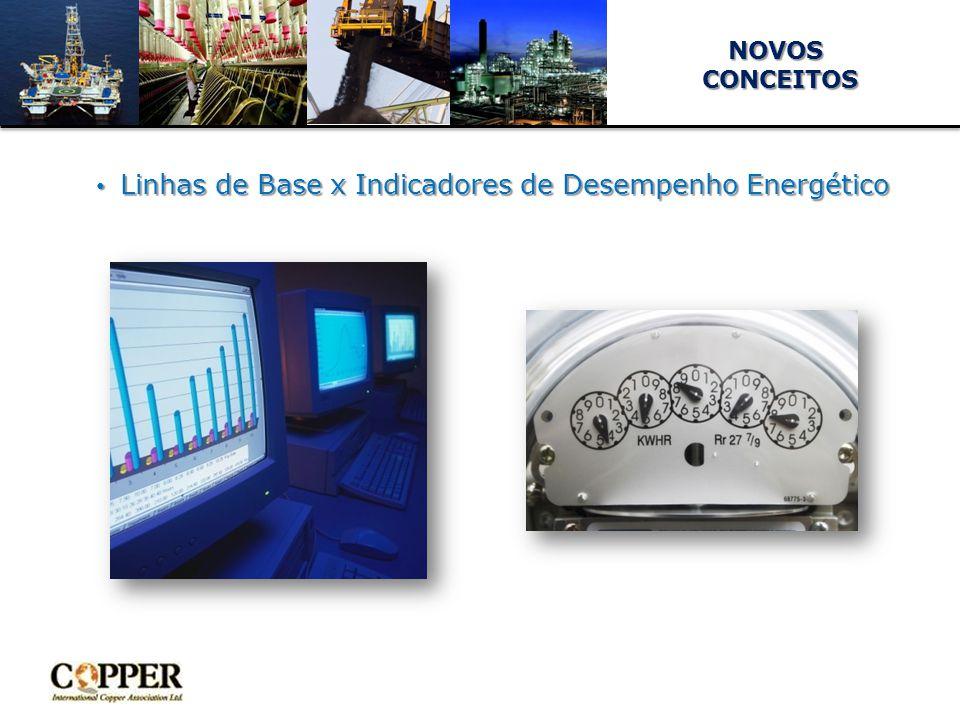 NOVOS CONCEITOS CONCEITOS Linhas de Base x Indicadores de Desempenho Energético Linhas de Base x Indicadores de Desempenho Energético 30