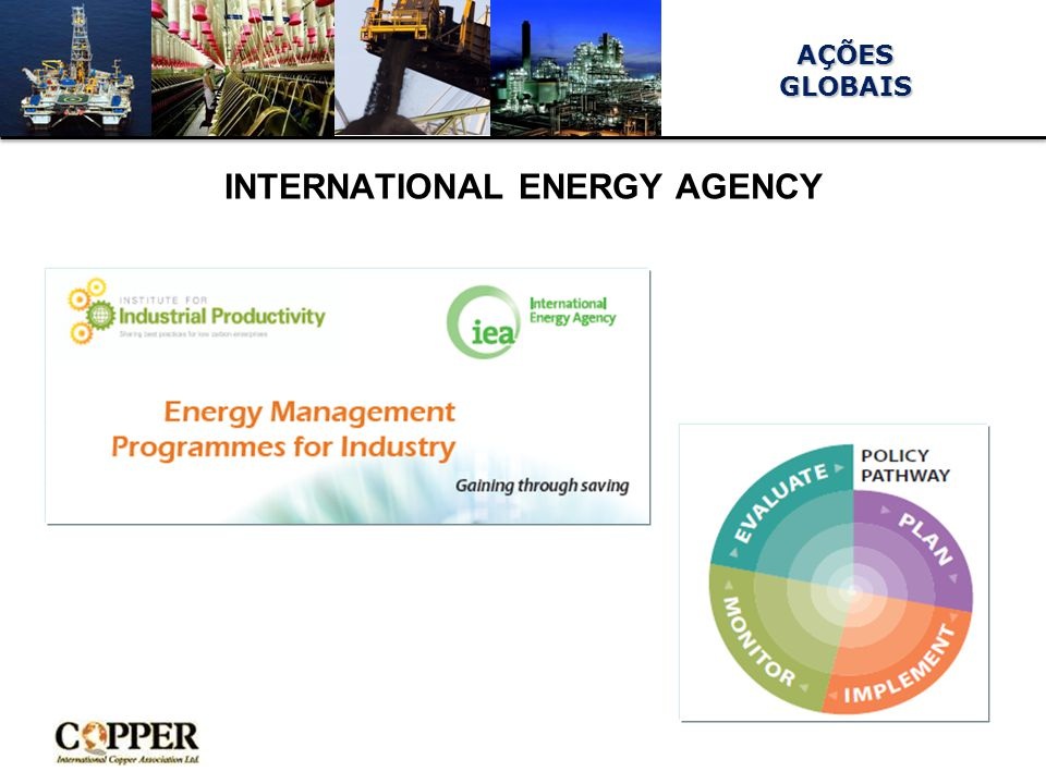 AÇÕESGLOBAIS INTERNATIONAL ENERGY AGENCY