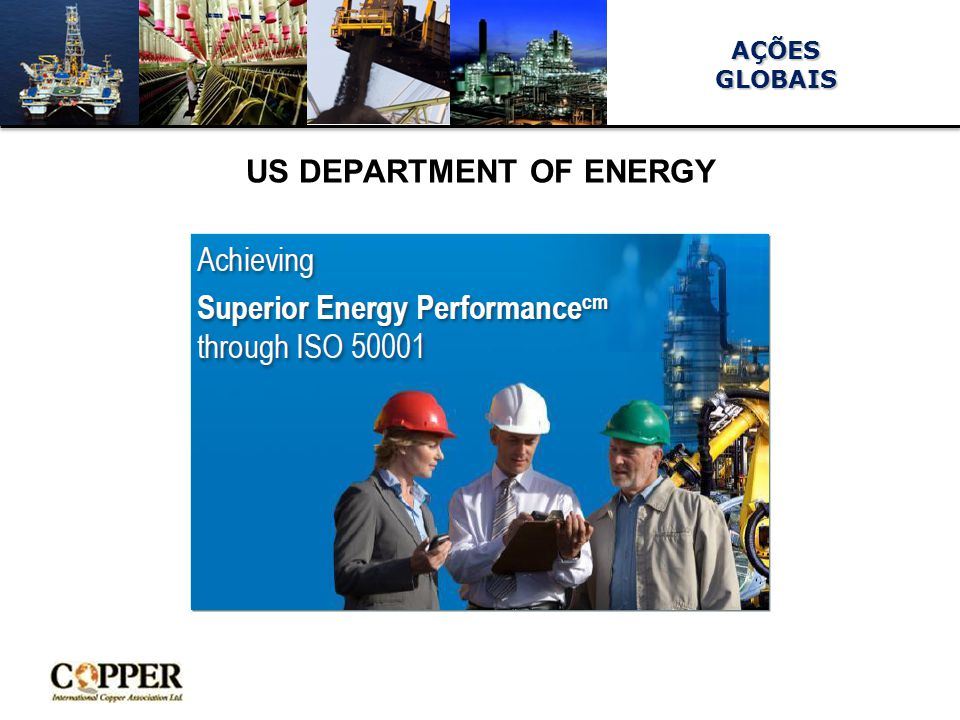 AÇÕESGLOBAIS US DEPARTMENT OF ENERGY