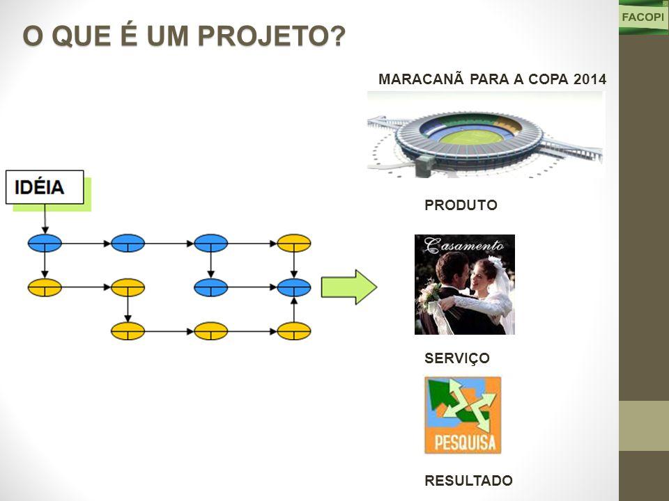 PRODUTO MARACANÃ PARA A COPA 2014 O QUE É UM PROJETO RESULTADO SERVIÇO