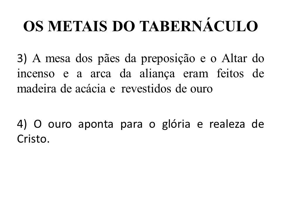 A COBERTURA DO TABERNÁCULO Êx 26.7-14 I – O Tabernáculo possuía quatro coberturas.