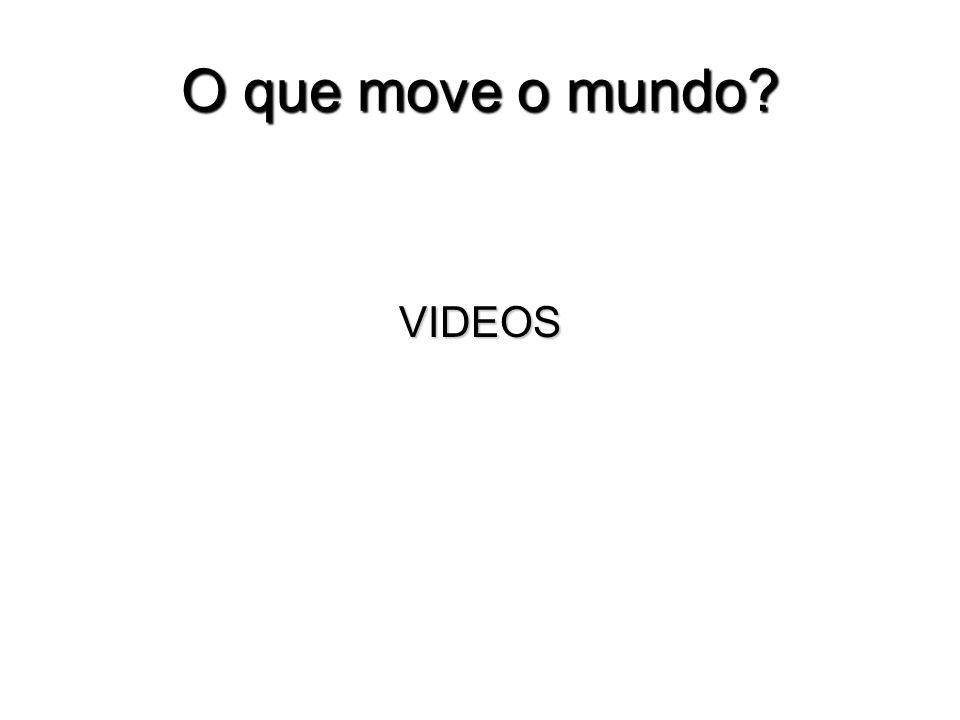 O que move o mundo? VIDEOS