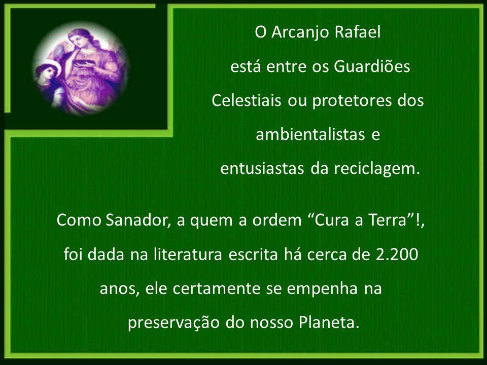 Na arte, os símbolos de Rafael são pães e peixes ou uma vasilha de ungüento; e ele é quase sempre representado usando sandálias e portando um bastão.