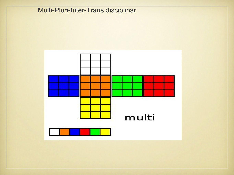 Multi-Pluri-Inter-Trans disciplinar