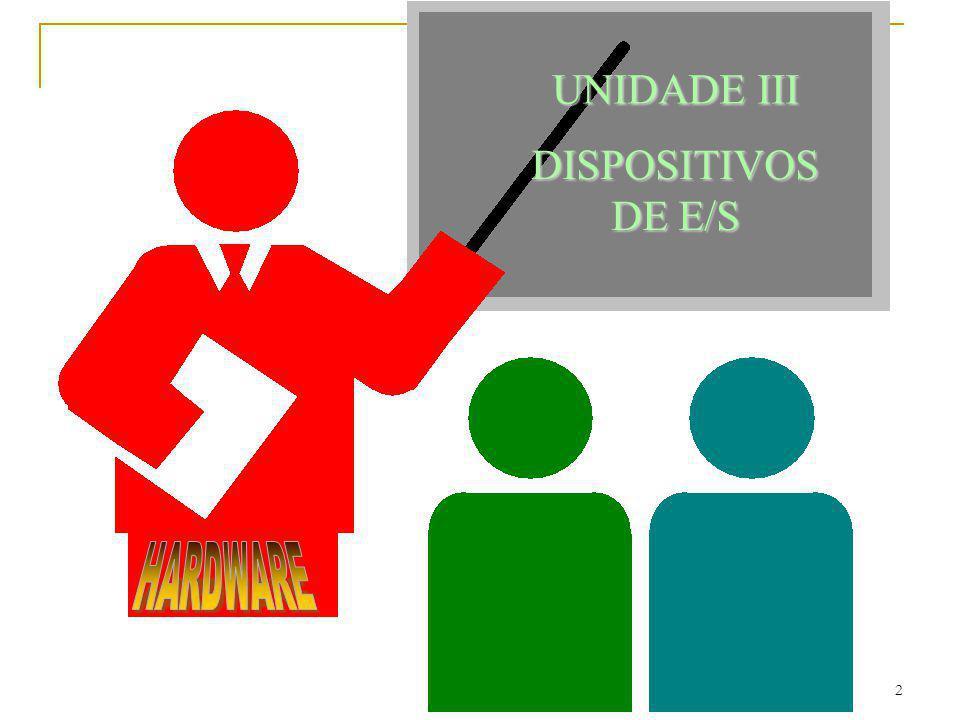 2 UNIDADE III DISPOSITIVOS DE E/S