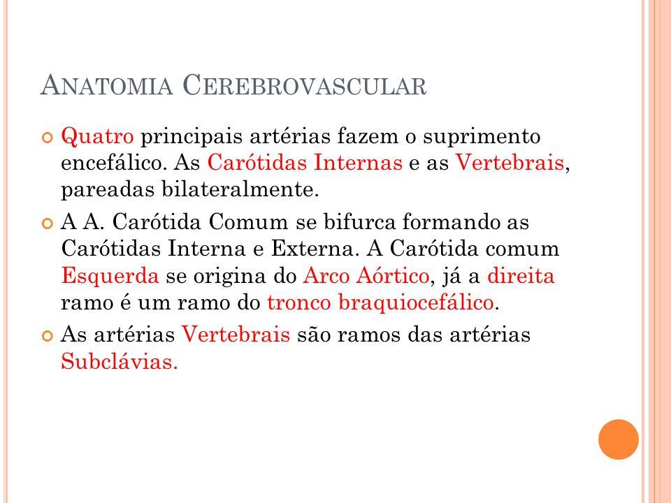 Tratamento – Fase Crônica Determinado pela etiologia: - Cardioembólico: Anticoagulação plena permanente ( 2 < INR < 3).