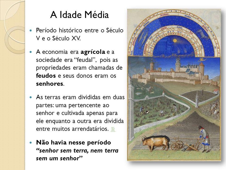 Período histórico entre o Século V e o Século XV.