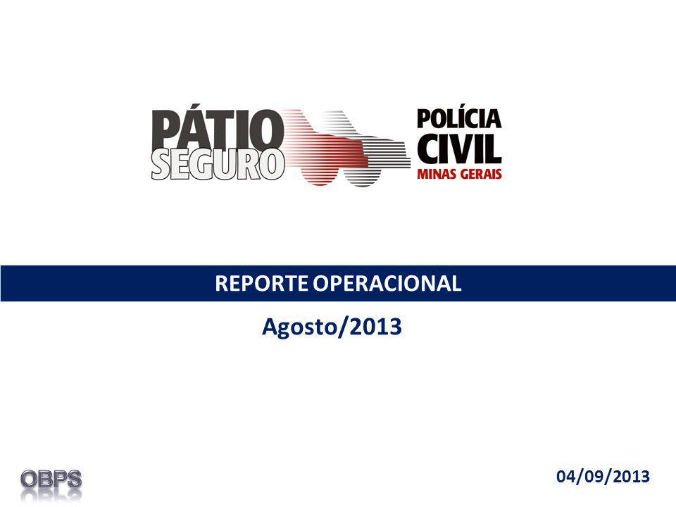 REPORTE OPERACIONAL Agosto/2013 04/09/2013