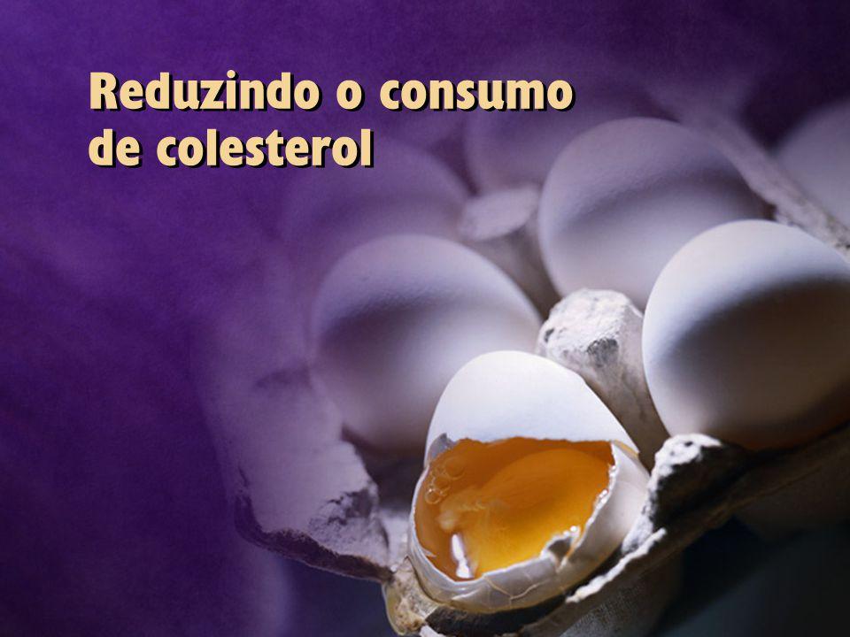 Reduzindo o consumo de colesterol