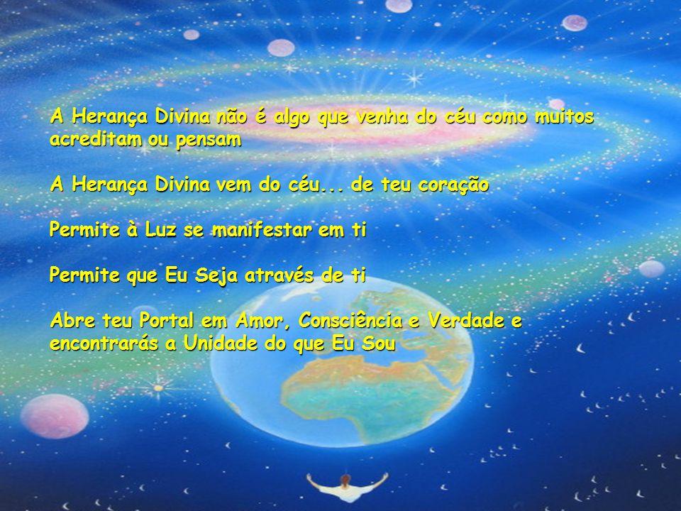A Herança Divina não é algo que venha do céu como muitos acreditam ou pensam A Herança Divina vem do céu...