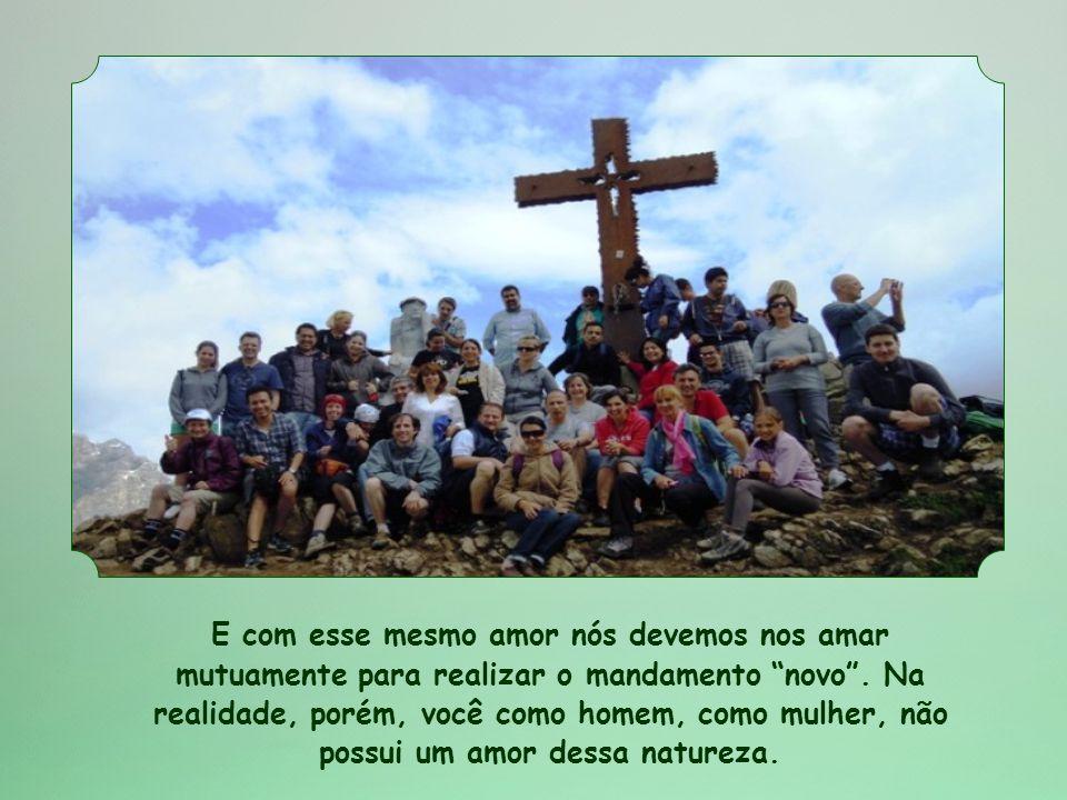 Veja: Jesus morreu por nós.Portanto, amou-nos até a medida extrema.