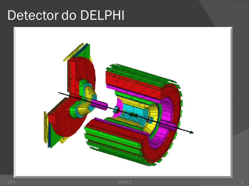Detector do DELPHI 2010SPRACE8