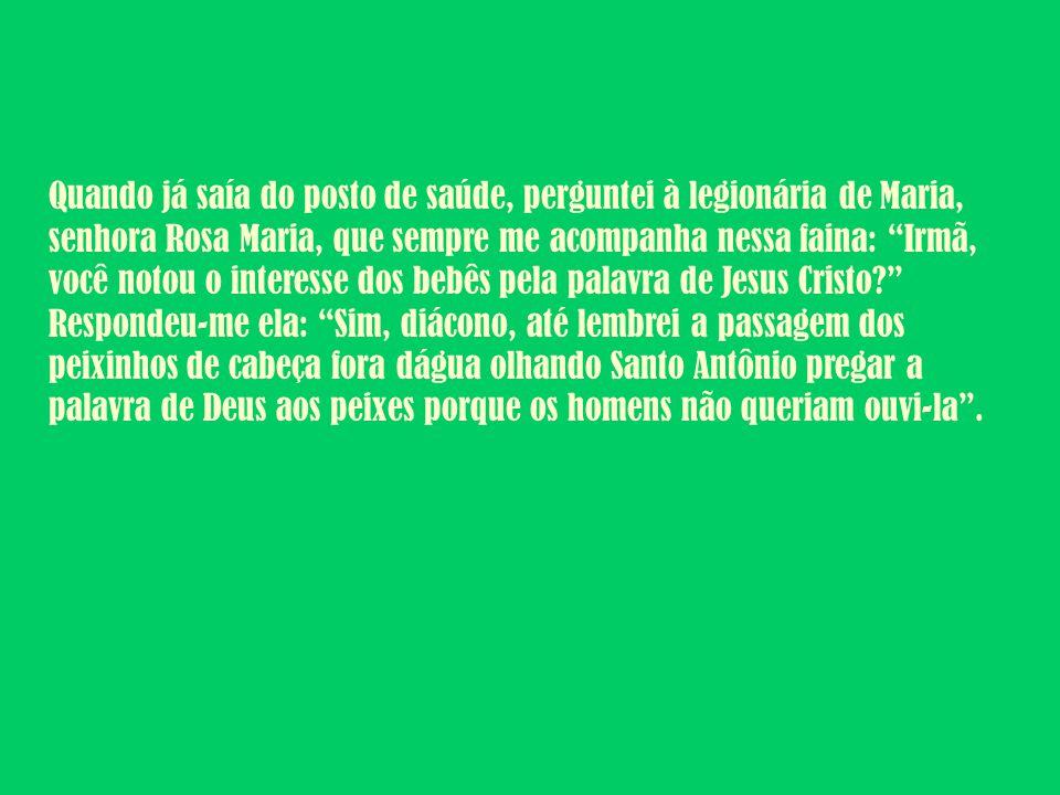 O recado que a Mãe da Divina Providência mandou dar a seus filhos foi: Lucas 12, 1-7.