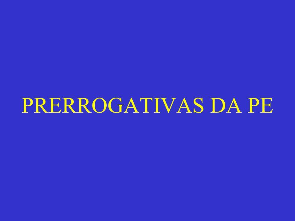 Define-se prerrogativa, como um a regalia, direito, privilégio ou apanágio.