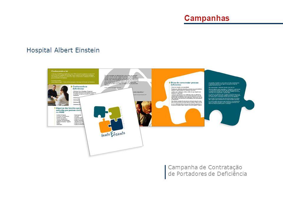 Campanhas Campanha de Contratação de Portadores de Deficiência Hospital Albert Einstein