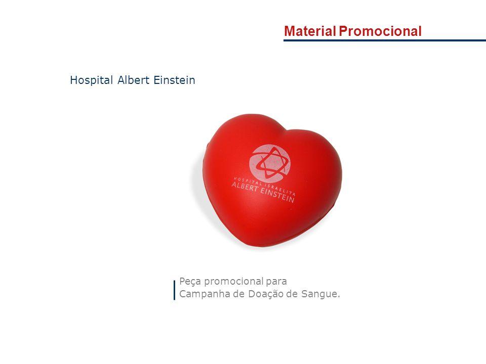 Material Promocional Peça promocional para Campanha de Doação de Sangue. Hospital Albert Einstein