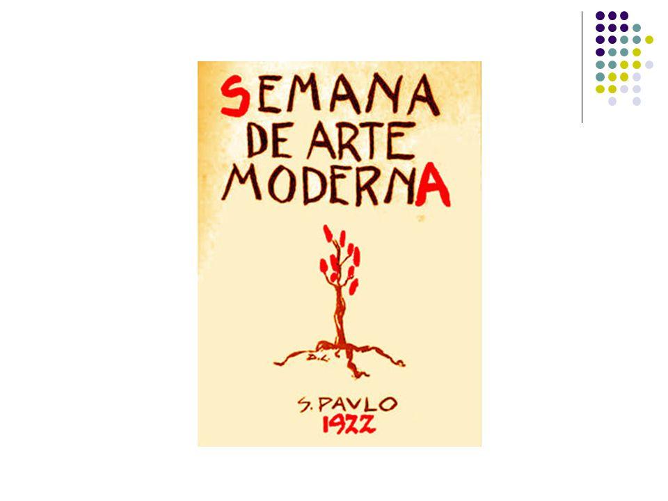 A semana A Semana de Arte Moderna de 22, realizada entre 11 e 18 de fevereiro de 1922 no Teatro Municipal de São Paulo, contou com a participação de escritores, artistas plásticos, arquitetos e músicos.