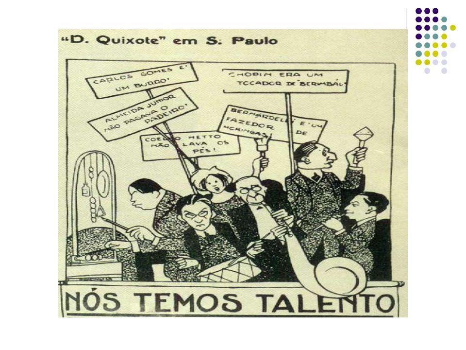 Uma cidade na medida certa para o evento São Paulo dos anos 20 era a cidade que melhor apresentava condições para a realização de tal evento.