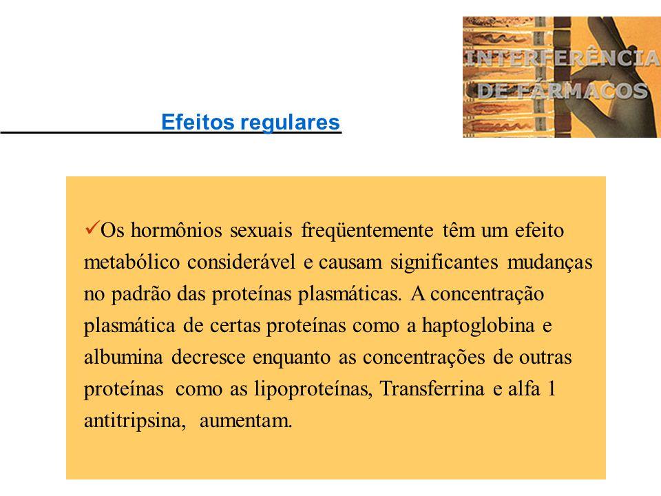 Os efeitos biológicos das drogas com influência na interpretação dos resultados dos exames laboratoriais podem ser encontrados: a) regularmente - em t