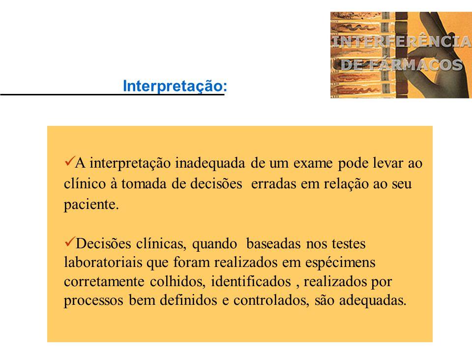 Exames laboratoriais: Informações e Indicadores úteis para: estabelecer diagnósticos avaliar a gravidade das patologias existentes (estágio da doença)