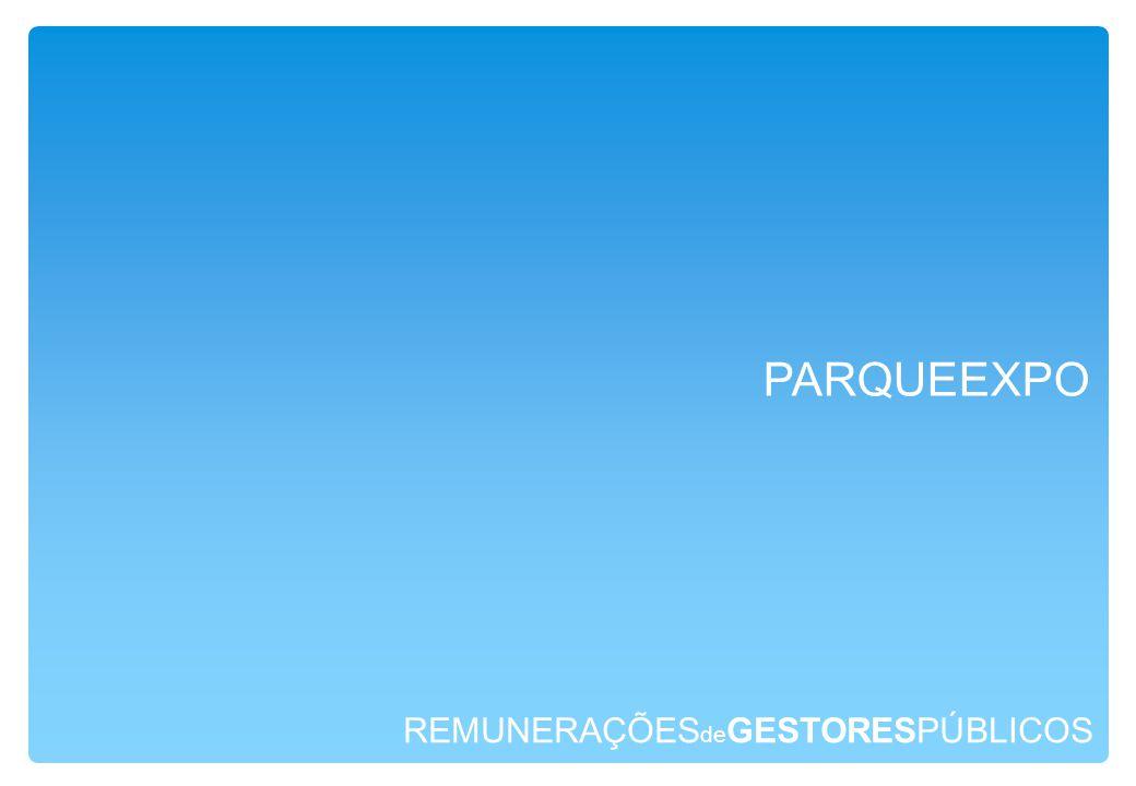 REMUNERAÇÕES de GESTORESPÚBLICOS PARQUEEXPO