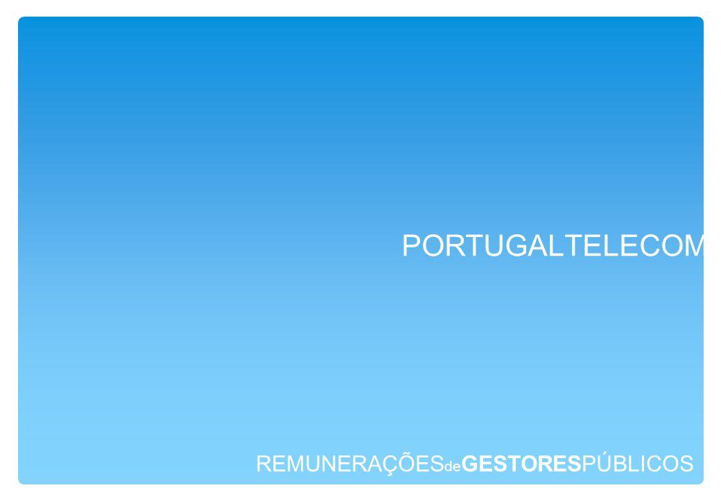 REMUNERAÇÕES de GESTORESPÚBLICOS PORTUGALTELECOM