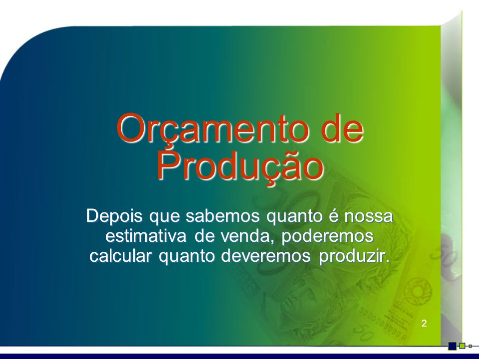 23 Orçamento Empresarial Impacto das políticas de estoque sobre...