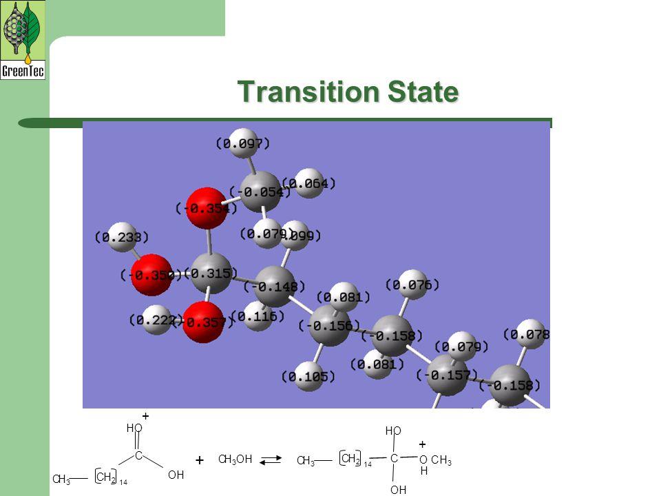 Transition State + H 3 OHC OH C HO C H2H2 14 H3H3 C O CH 3 H + OH C HO C H2H2 14 H3H3 C +