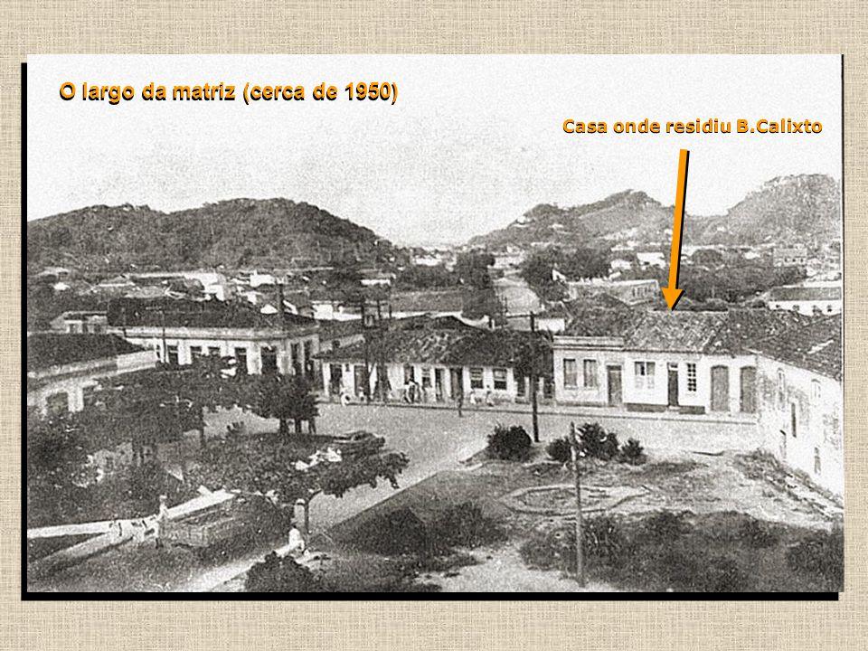 Vista do centro histórico da cidade (c. 1920)