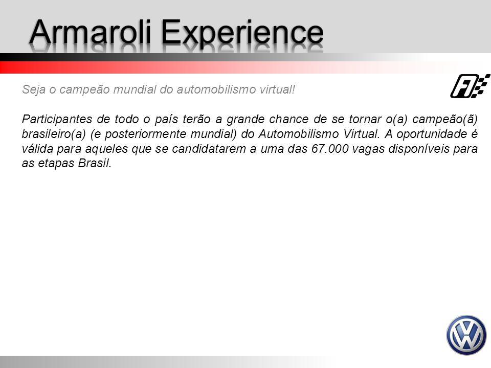 Seja o campeão mundial do automobilismo virtual! Participantes de todo o país terão a grande chance de se tornar o(a) campeão(ã) brasileiro(a) (e post