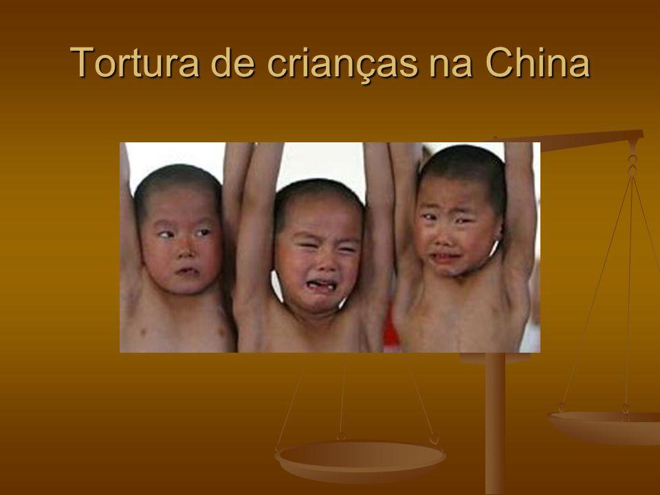 Tortura de crianças na China