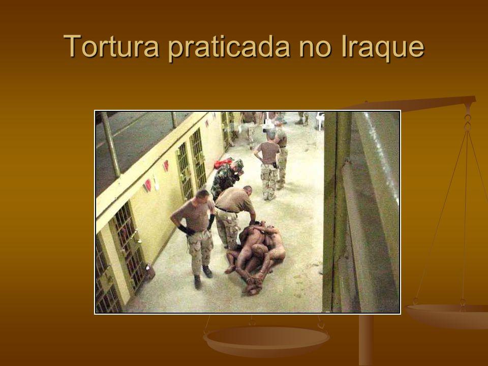 Tortura praticada no Iraque