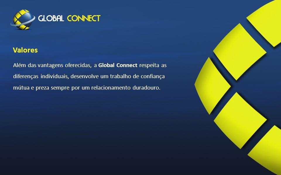 Os pilares de existência da Global Connect são os nossos colaboradores, são eles que fazem a diferença.