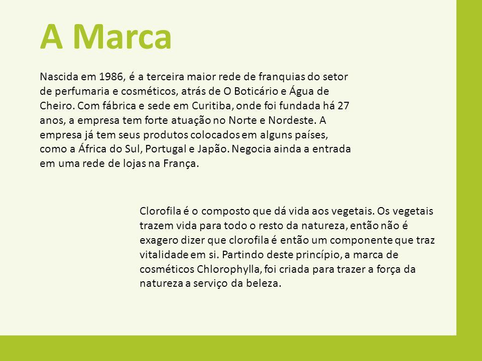 A Marca Nascida em 1986, é a terceira maior rede de franquias do setor de perfumaria e cosméticos, atrás de O Boticário e Água de Cheiro. Com fábrica