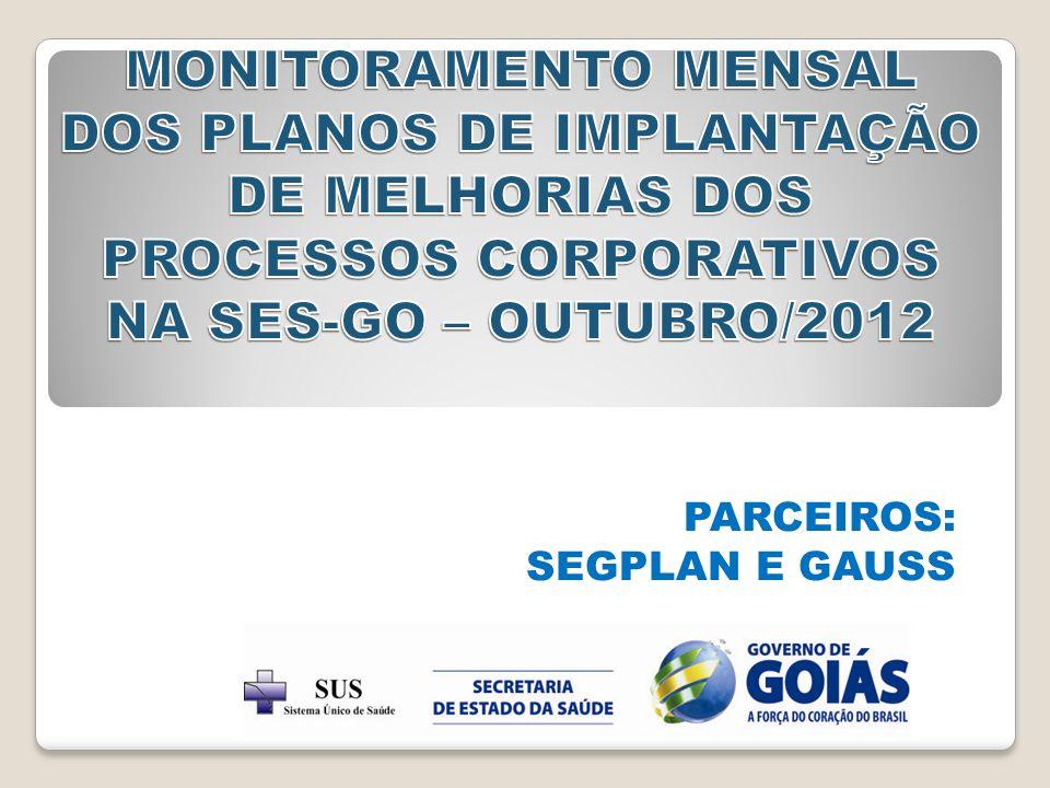 PARCEIROS: SEGPLAN E GAUSS