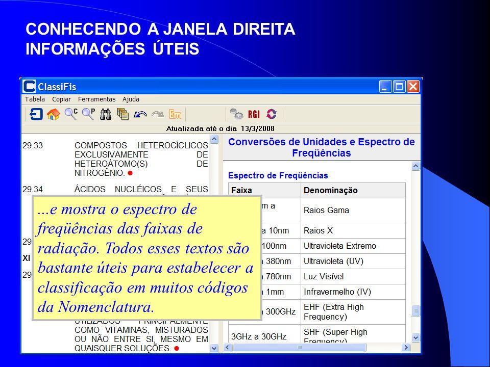 Finalmente, clicando sobre o comando Ferramentas/Processo de Consulta, surge na Janela Direita toda a legislação referente ao processo de consulta sobre classificação de mercadorias junto à Receita Federal do Brasil.