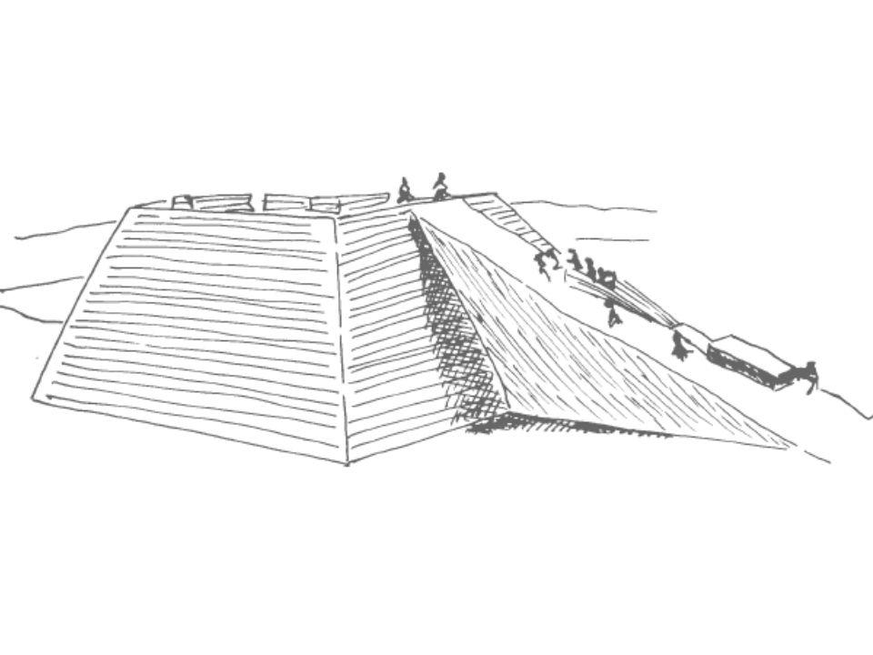 A cunha e o parafuso são exemplos de aplicação do plano inclinado.