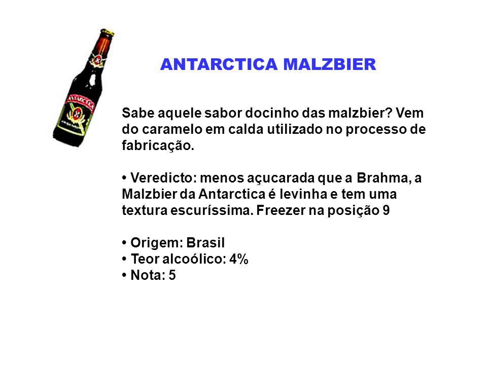 BAVARIA Para consolidar a fusão Brahma-Antarctica, a Ambev teve de vender uma de suas marcas.
