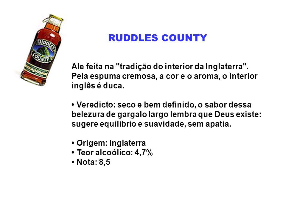 RUDDLES COUNTY Ale feita na