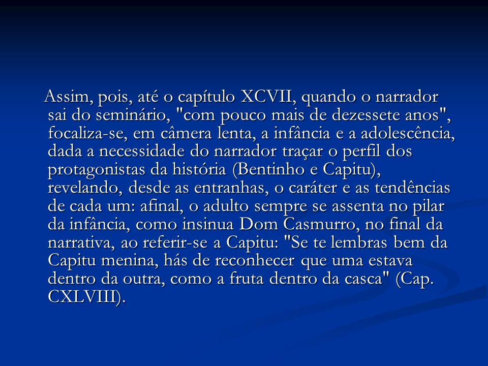 A linguagem de Machado de Assis é marcadamente acadêmica: clássica, bem cuidada, regida pelas normas de correção gramatical.