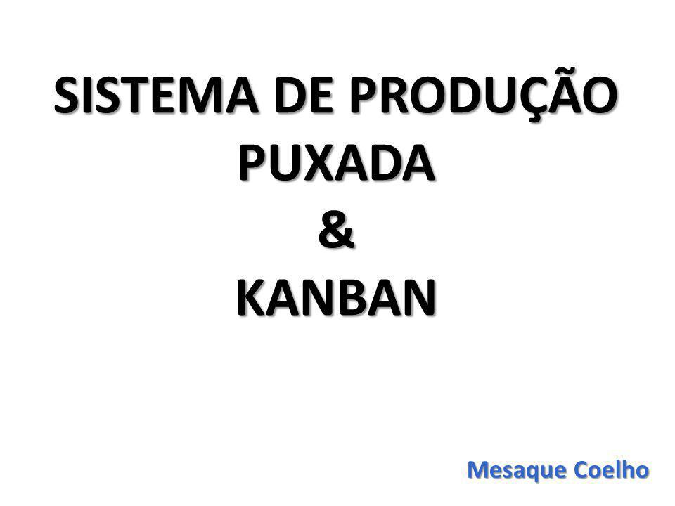 SISTEMA DE PRODUÇÃO PUXADA &KANBAN Mesaque Coelho