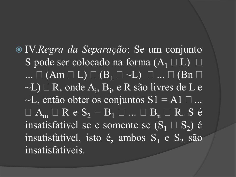 Resumo  A base do Teorema de Herbrand é um conjunto formado a partir de símbolos de predicados, que é gerado consecutivamente, verificando-se a insatisfatibilidade dos elementos.