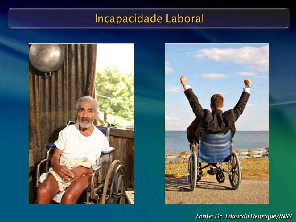 Defesa Judicial do INSS – O Papel do Perito Médico Incapacidade Laboral Fonte: Dr. Eduardo Henrique/INSS