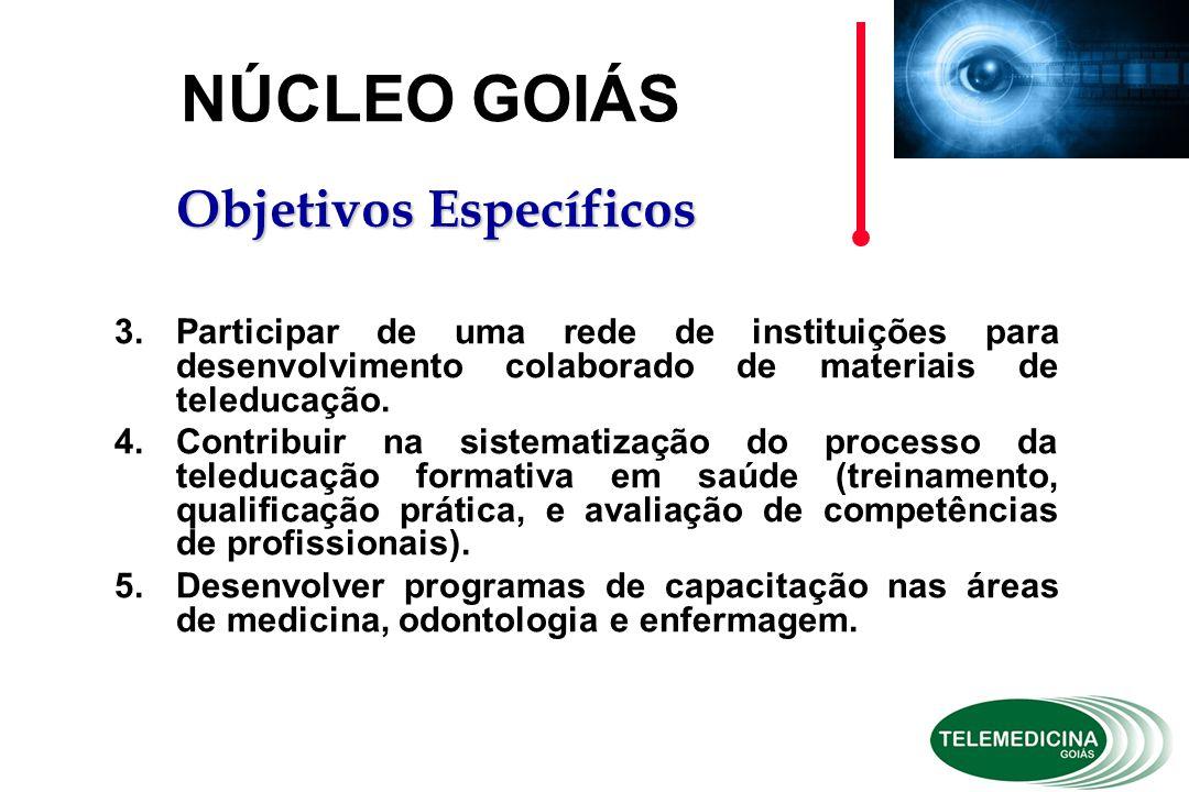 3.Participar de uma rede de instituições para desenvolvimento colaborado de materiais de teleducação.